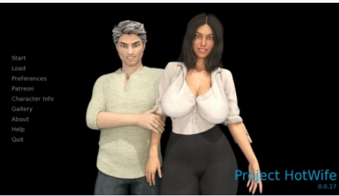 Download Project Hot Wife 0.0.19 Game Walkthrough Free for PC